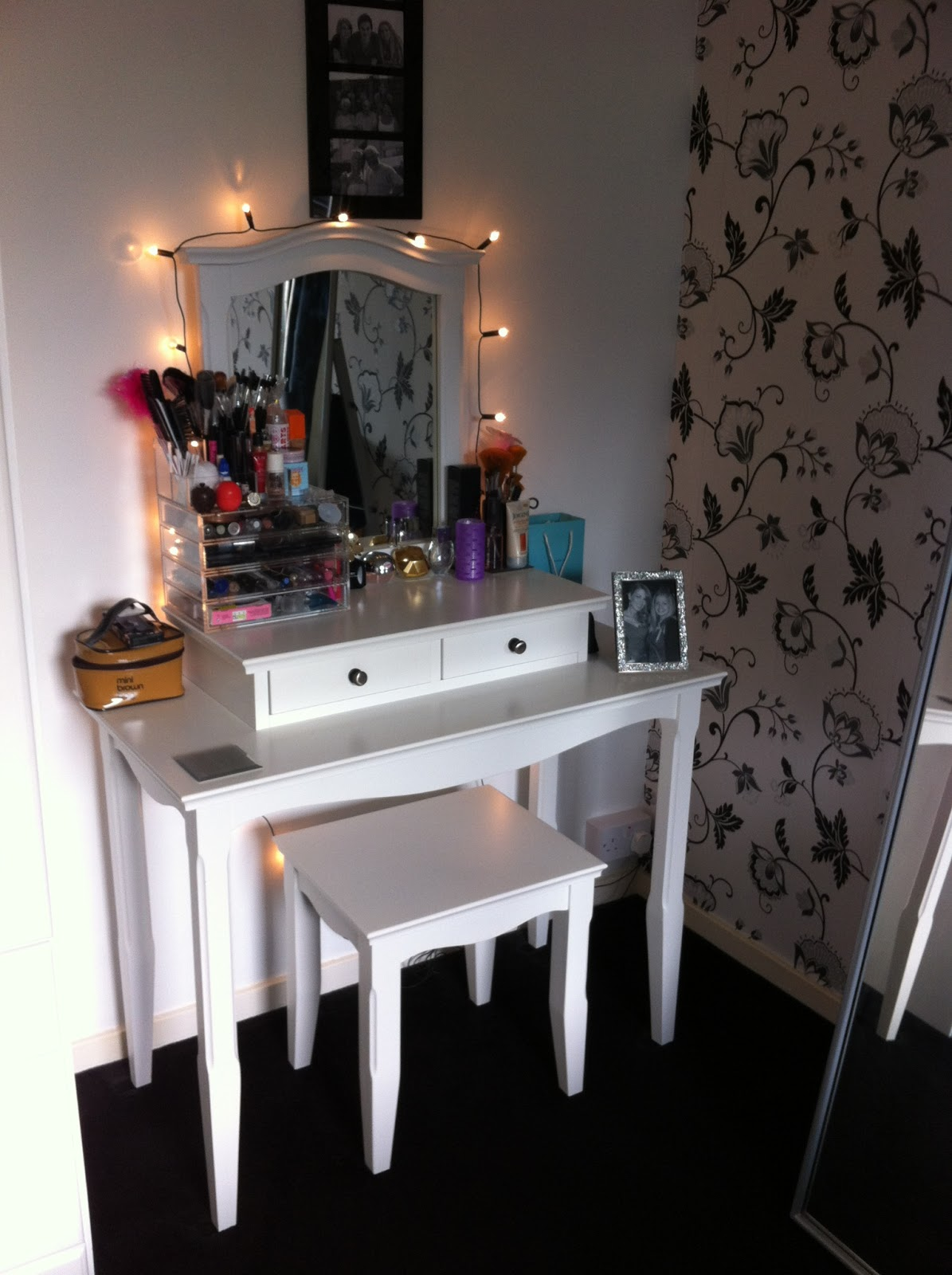 my dressing table or 39 vanity 39 area by trying2bbeautiful on