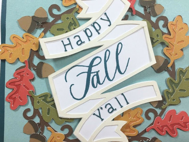 Happy Fall, Y'all card