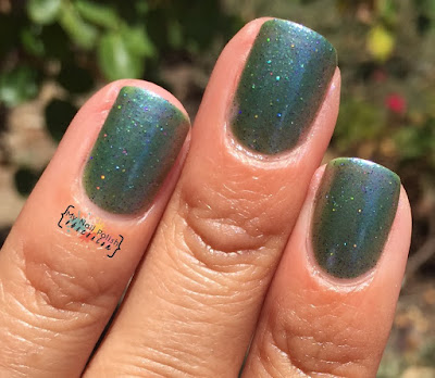 Nail Hoot My Green Plum
