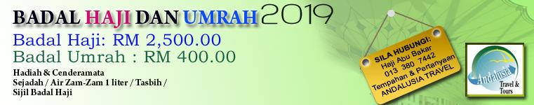 BADAL HAJI & UMRAH 2019