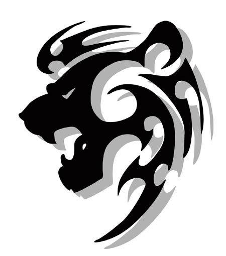 they saw the whole of the inter tribal lion tattoo designs. Black Bedroom Furniture Sets. Home Design Ideas