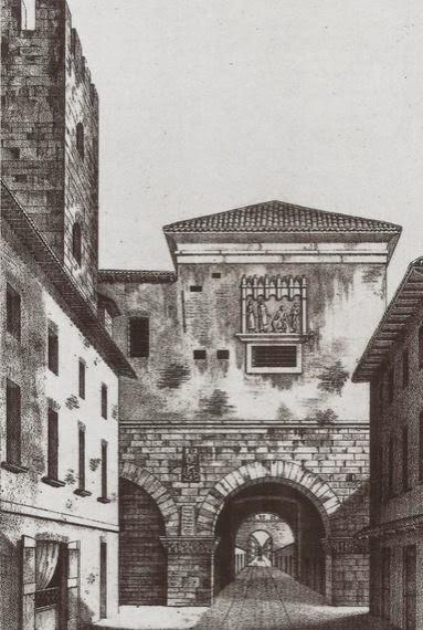 Milanoneisecoli porte e pusterle medievali - Autoscuola porta romana milano ...