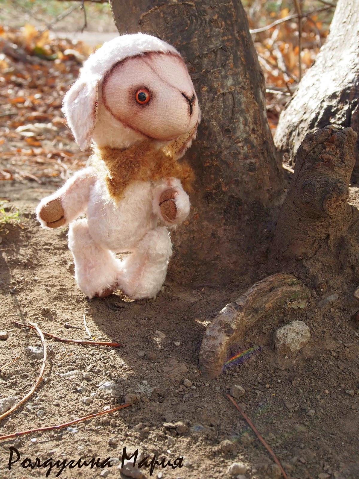 овечка тедди игрушка
