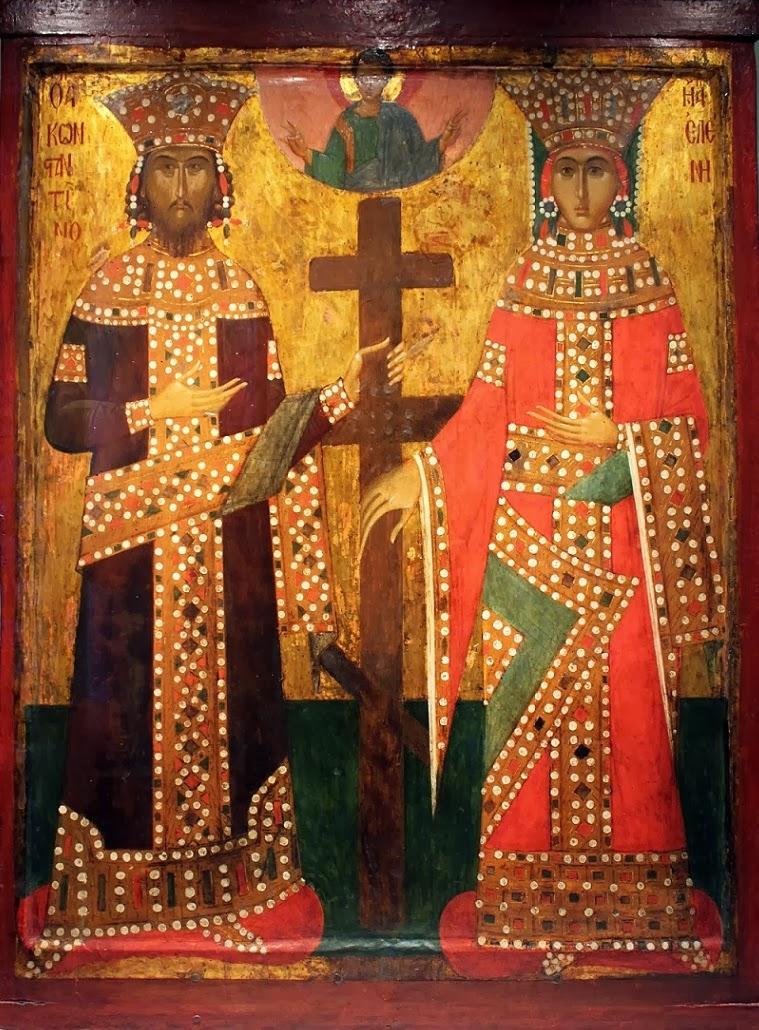 Η εύρεση του Τιμίου Σταυρού από την Αγία Ελένη και η σιωπή των πηγών http://leipsanothiki.blogspot.be/