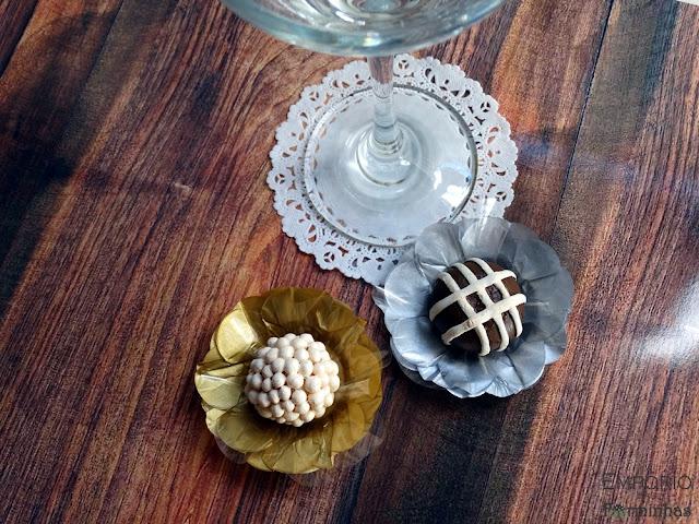 Forminhas em papel de seda para doces finos