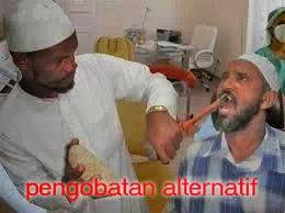 Foto Dan Gambar Lucu facebook pengobatan alternatif