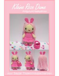 Kleine Roze Dame gratis Haakpatroon