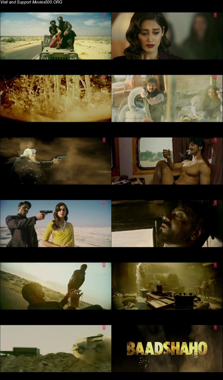 Baadshaho 2017 Hindi Movie Official Trailer Download HD 720P at massage.company