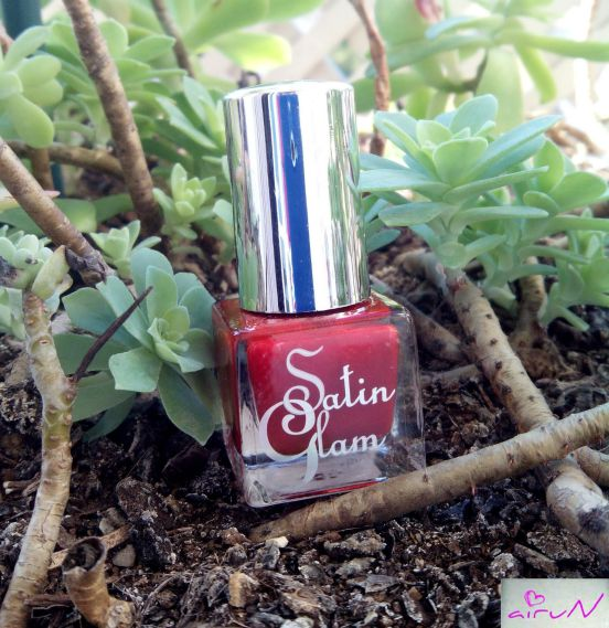 satin glam rojo deliplus