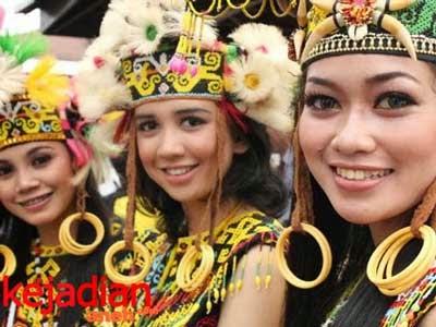 Pengantin Suku Tidung di Kalimantan Timur