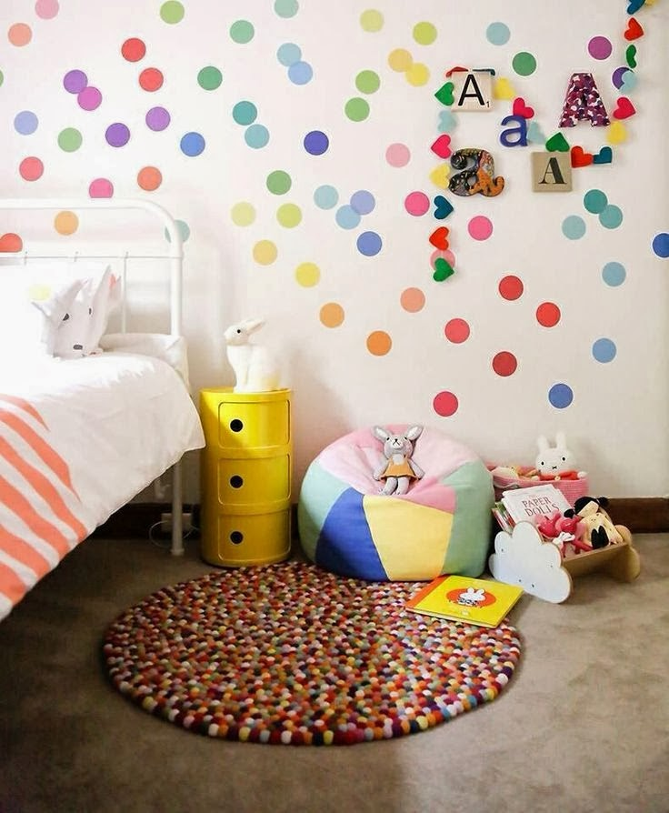 quarto infantil-decoração de quarto infantil-papel de parede para quarto-quarto para meninas-cama infantil-infant room