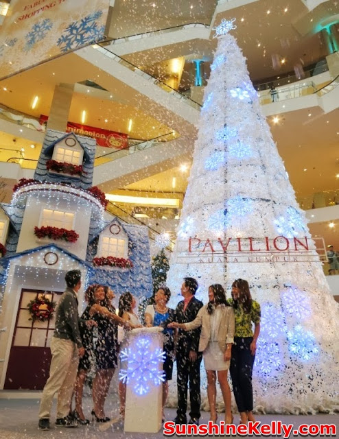 christmas wonders, pavilion kl, christmas decoration at the mall, shopping mall