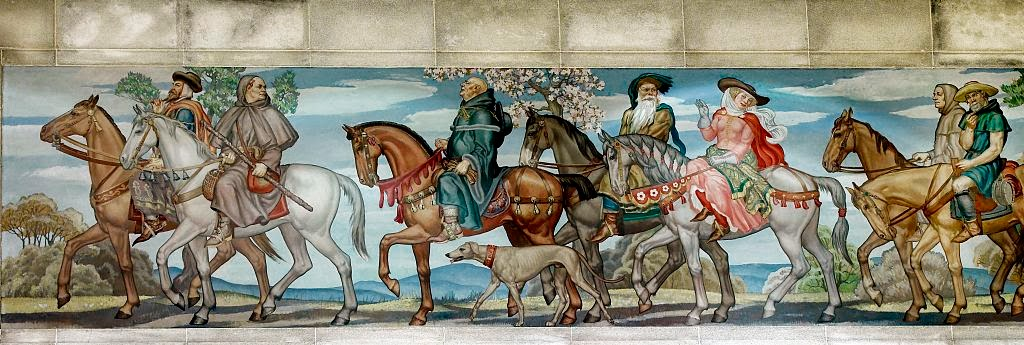 an analysis of the squire and the yeman in the canterbury tales by geoffrey chaucer