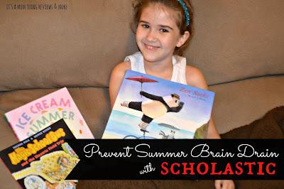 Scholastic Summer Reading Challenge Giveaway