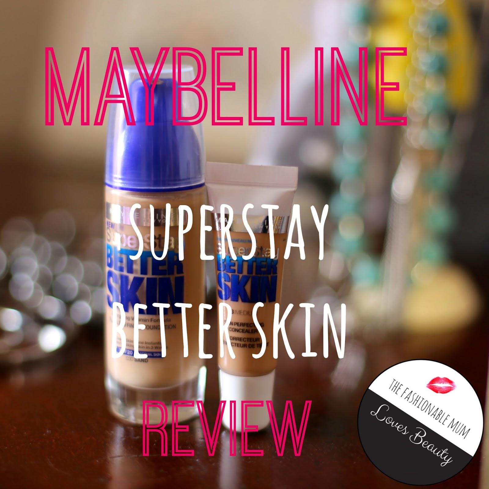 Maybelline Superstar Better Skin Foundation