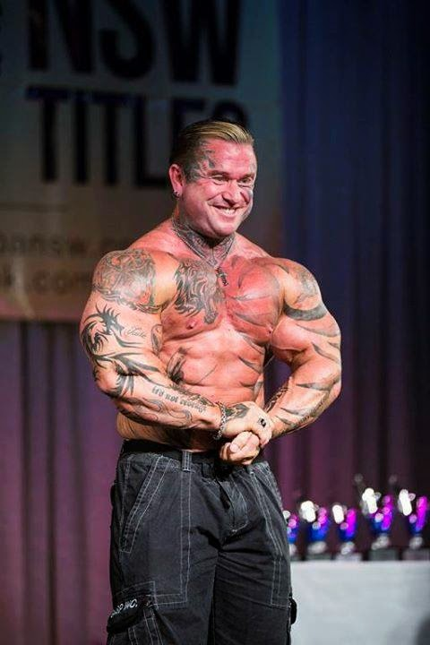 Lee Priest at NABBA Pro 2014- Guest Posing Offseason Picture