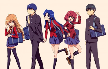 [Anime] Toradora! Toradora-group