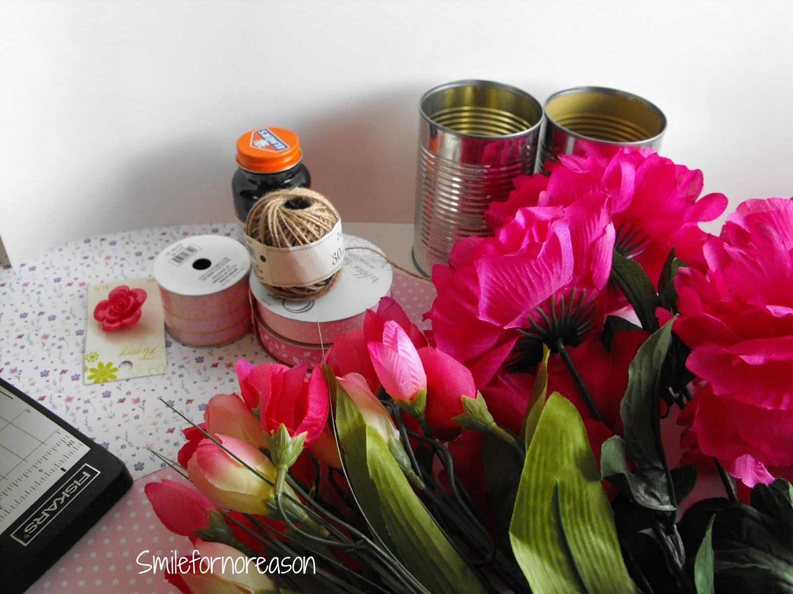 Recycled tin cans for your home decor