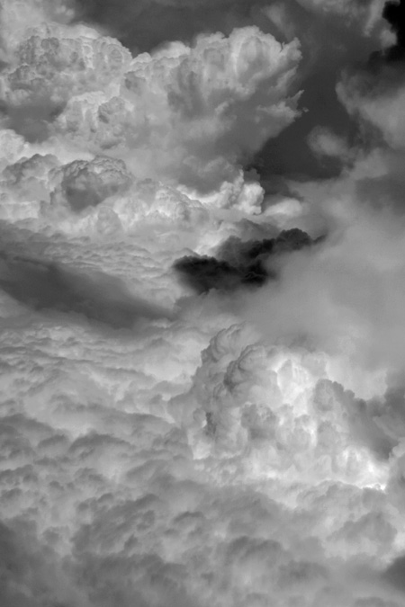 photo, nuages, ciel vu d'avion, sky, clouds, © dominique houcmant