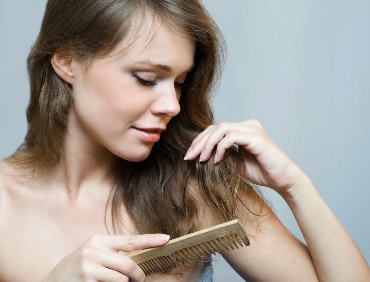 Les recettes sur les chutes des cheveux