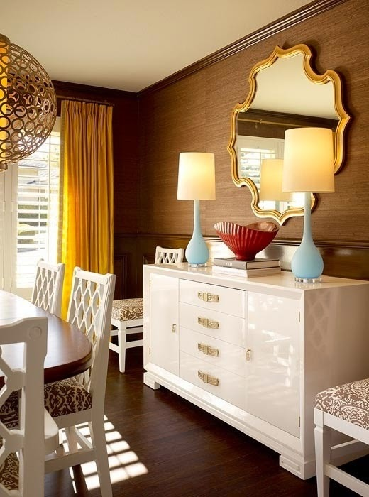 تصميمات رائعه لغرف المعيشه المغربيه  Exquisite-moroccan-dining-room-designs-1