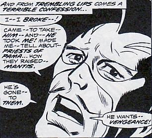 Avengers #123, Swordsman tortured
