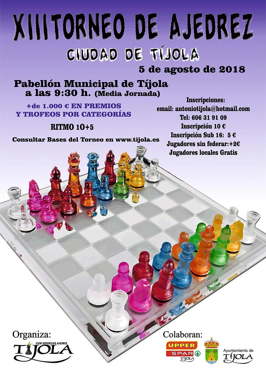 XIII Torneo Ciudad de Tíjola