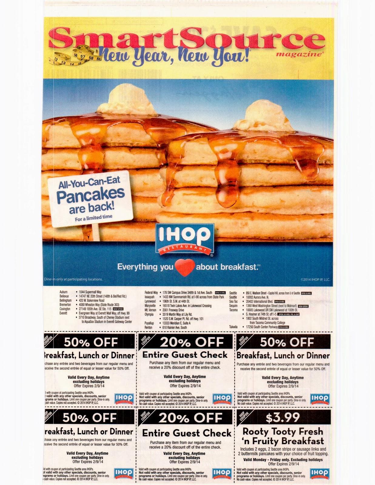 Ihop coupons april 2018 printable