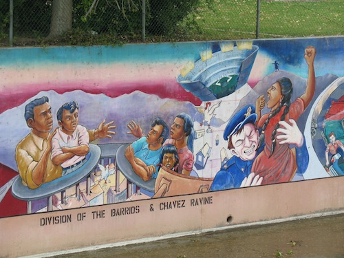Jesse 39 s blog the great wall of los angeles for Dodger stadium wall mural