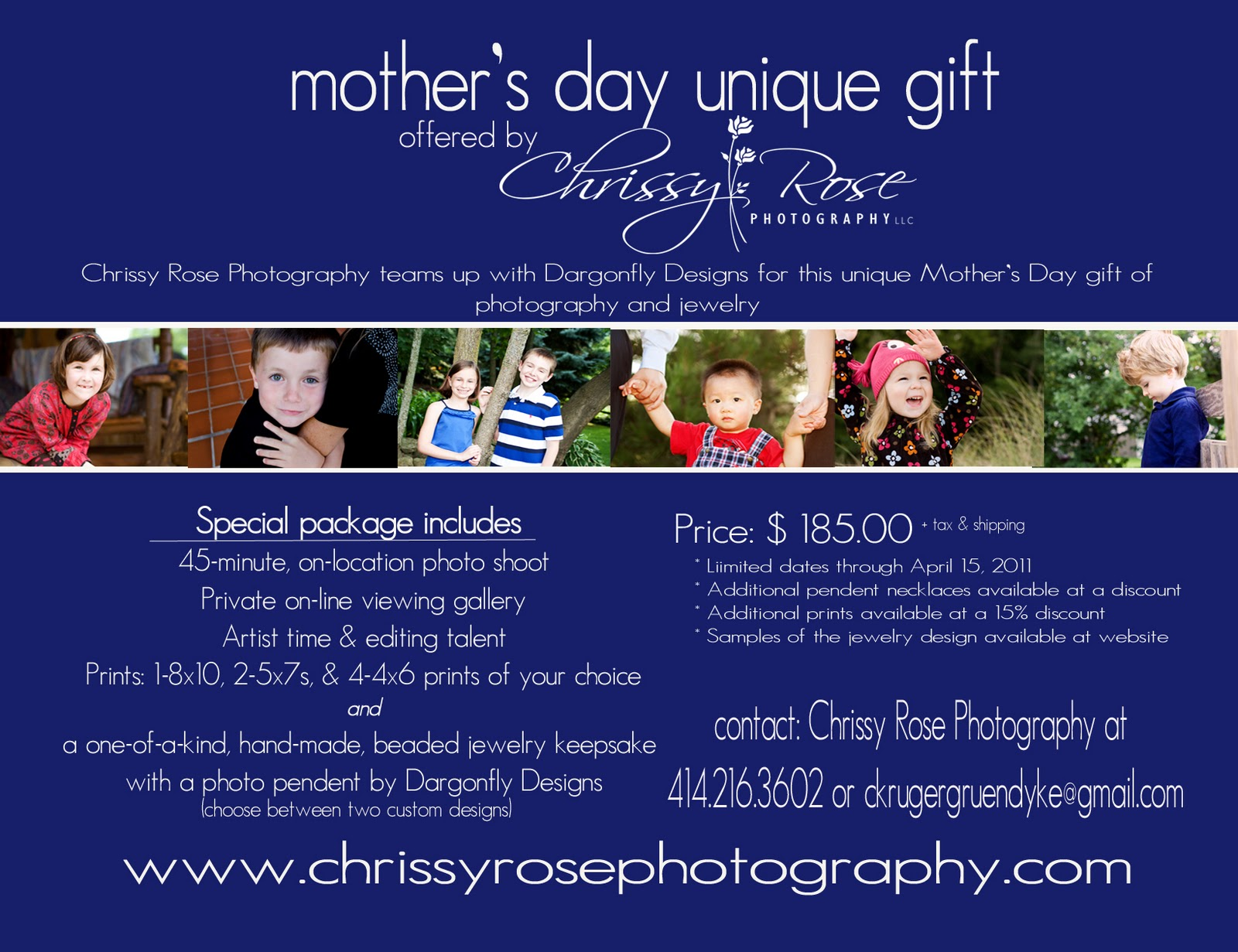 Chrissy Rose Photography: Mother's Day Photo Special ...