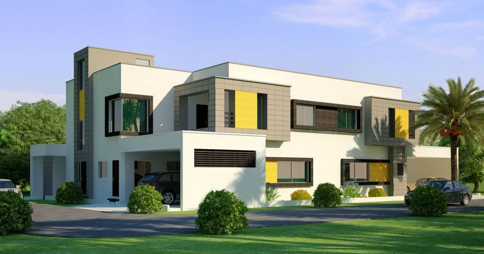 Latest Front Elevation Of N Home : D front elevation beautiful home house in pakistan