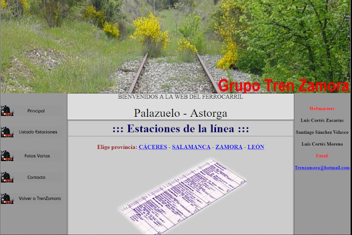 http://www.trenzamora.es/Lineaszamora/rutadelaplata.html