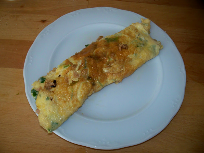 Y tu que cocinas tortilla francesa rellena de atun - Tortilla francesa calorias ...