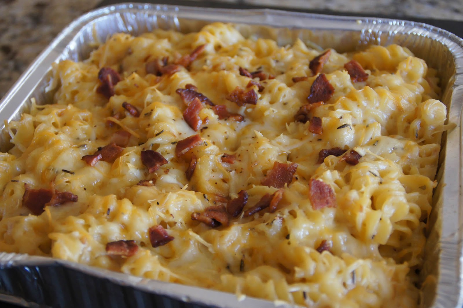 Four Cheese Smoke Mac n Cheese