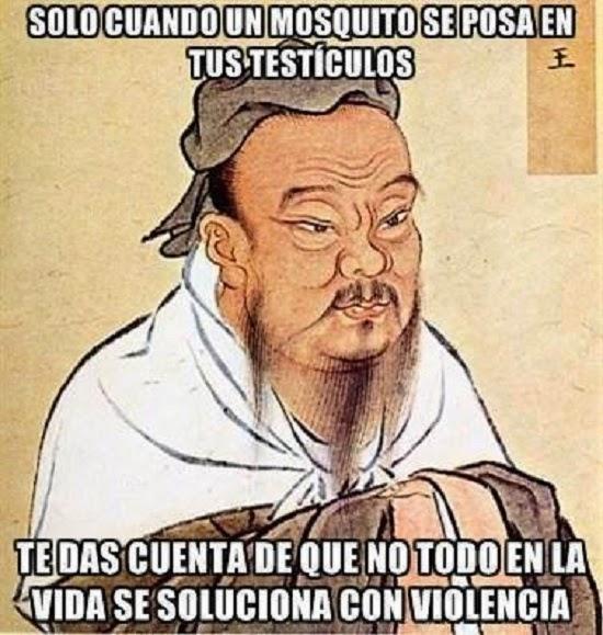 Un sabio chino dijo una vez