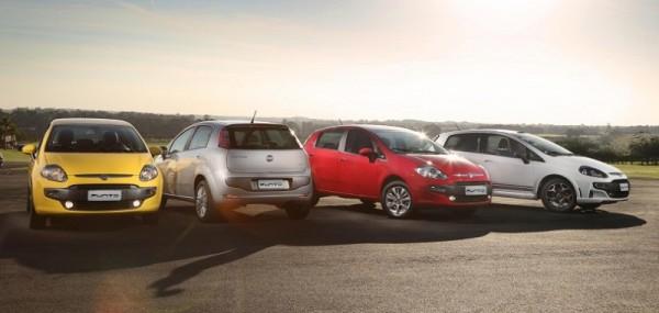 Fiat Punto 2013 fue presentado en Brasil