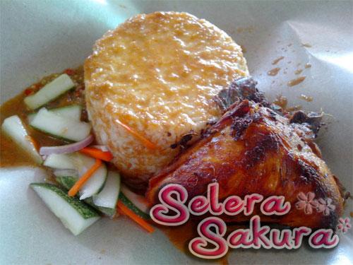 Nasi Kukus Ayam Berempah KB. Delights