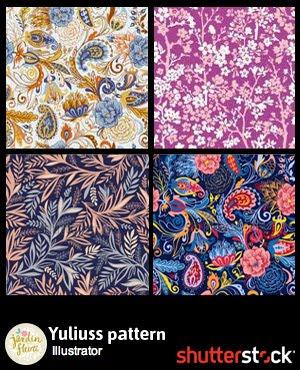 Buy my patterns on Shutterstock
