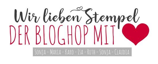 Wir ♥ Stempel - der BlogHop mit ♥