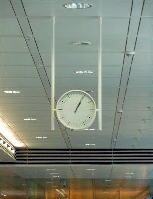 Orologio Aeroporto Monaco Flughafen