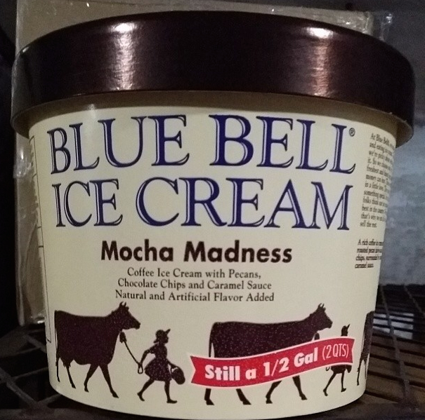 food and ice cream recipes NEWS Blue Bell Inserts Mocha Madness