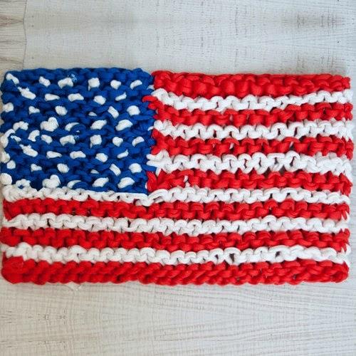 Bandera de trapillo
