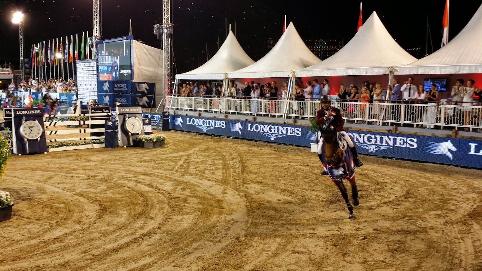LONGINES Conquest, Global Champions Tour 2014 Montecarlo, Mohammed Bassem Hassan