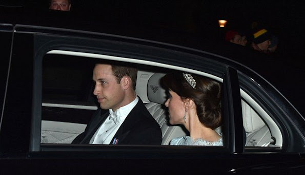 The Duke And Duchess Of Cambridge Attended The Annual Diplomatic Reception