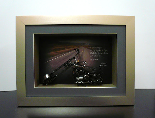 Frame Collectibles with Personalised Wording as Gift