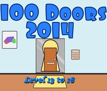Game 100 Doors 2014 Level 13 14 15 16 Answers