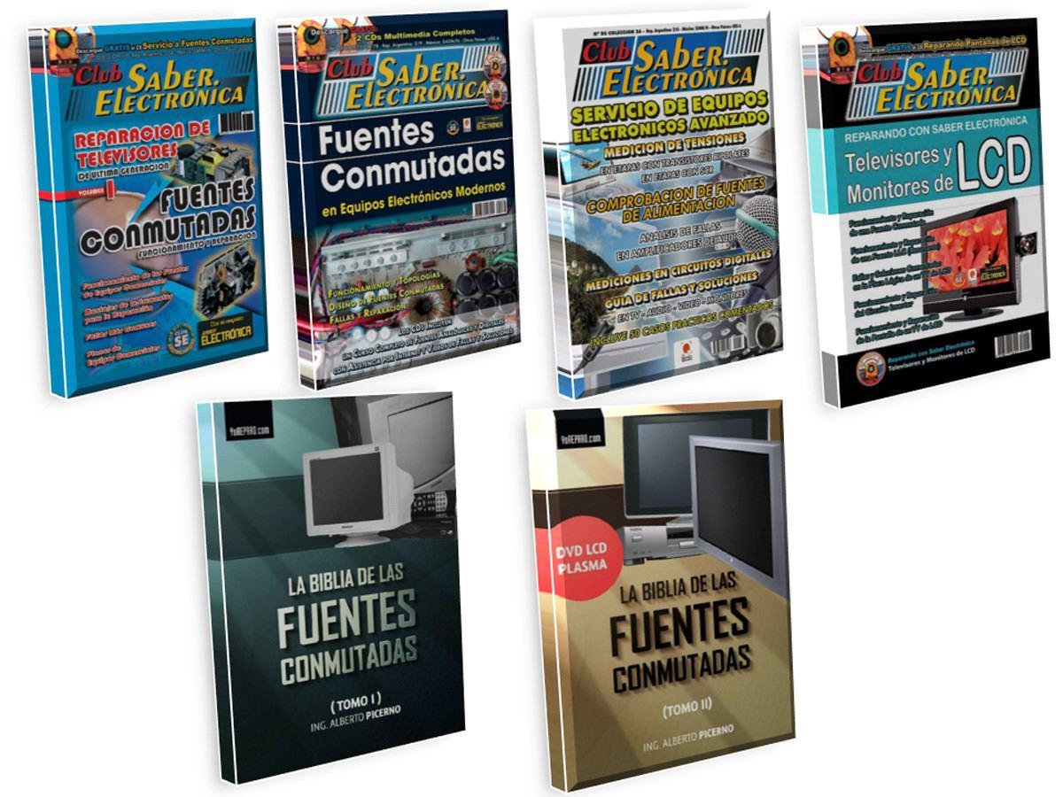 Electrónica Reparación Televisores Fuentes Conmutadas Colección 20 Pdf