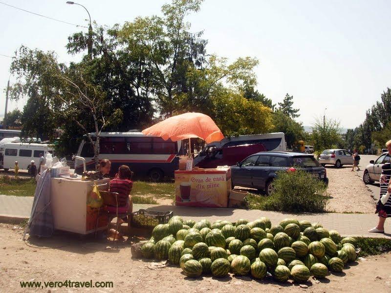 Estación principal de autobuses de la capital de Moldavia.