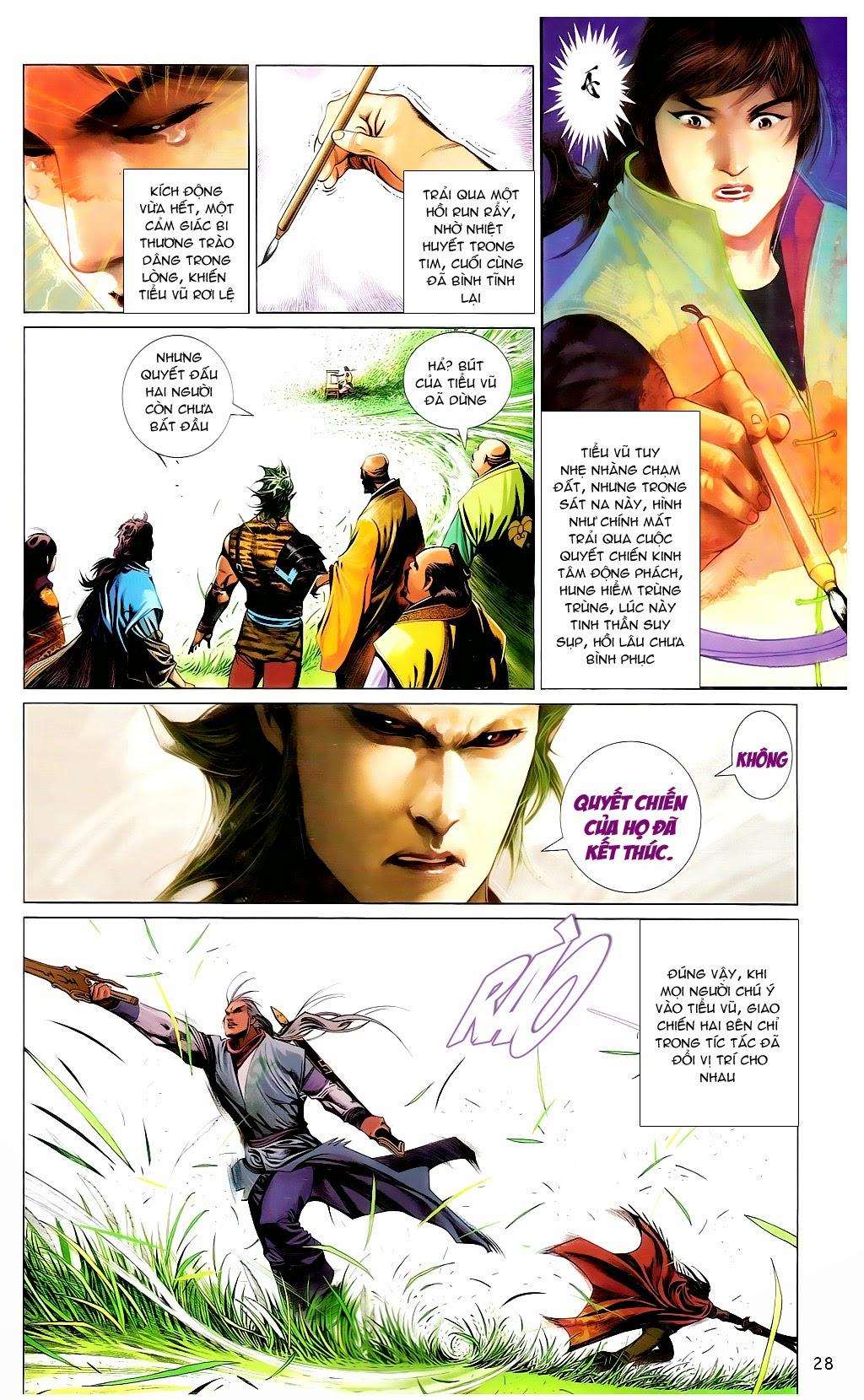 Phong Vân Chap 665 - Trang 27