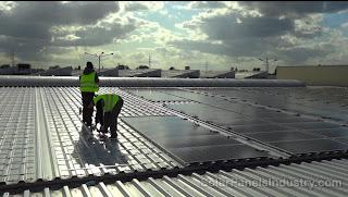 Berlin Solar Farm - SolBond Mounting System